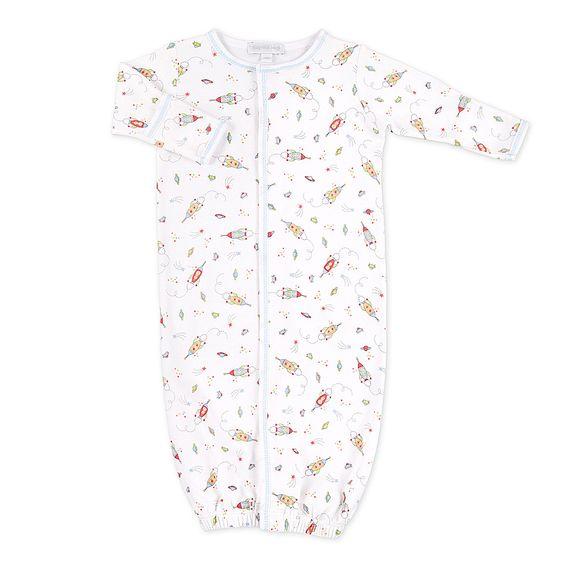 Magnolia Baby Blast Off Print Converter Gown