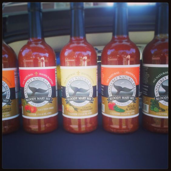 Check out my boyfriends new Bloody Mary Mix.... Nantucket Natural Blends comes in 5 flavors!!