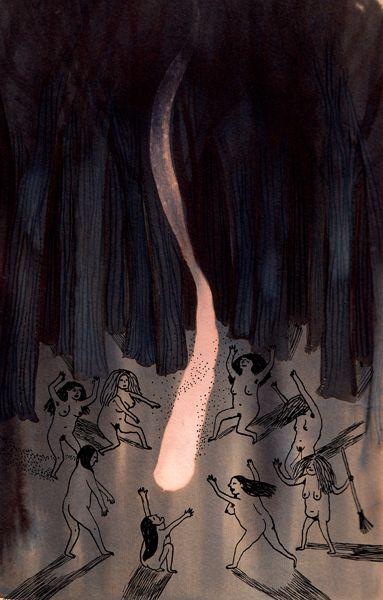 Estábamos deseando que terminara octubre para mostrar una selección de las mejores ilustraciones de Ana Pez en INKtober | Ana Pez worked hardly for INktober. This is a sellection of her favourite illustrations.