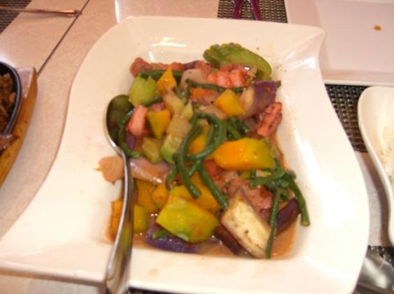 Pinakbet (Filipino Meat Veggie Stew With Shrimp Paste) from Food.com:   							  To all my Filipino's Pinterest's, Update this recipe if any.