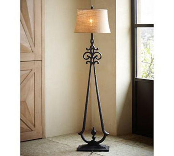 #Pottery Barn Sienna #Floor Lamp   7 Stylish Floor #Lamps .