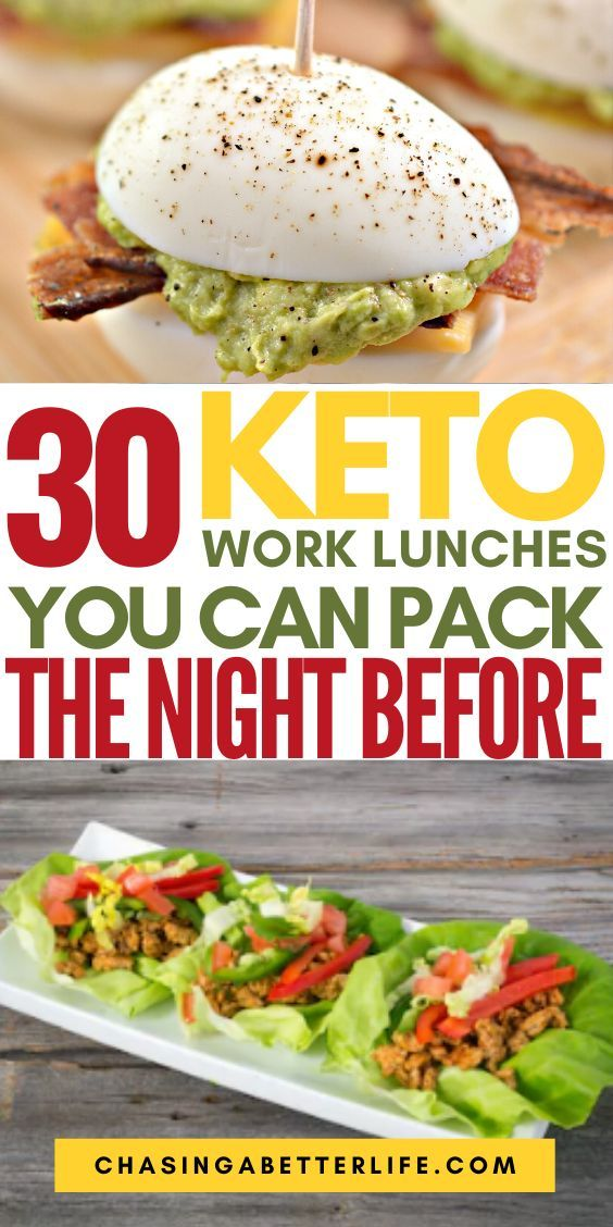 30 Keto Work Lunches You Can Pack The Night Before In 2020 Low Carb Lunch Ketogenic Diet Meal Plan Work Lunch