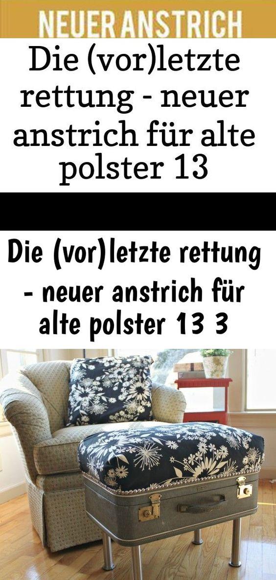 Neuer Anstrich Fur Alte Polster Neuer Look Fur Den Sessel Mit