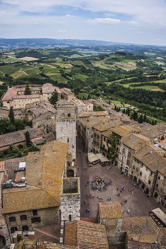 San Gimignano, province of Siena, Tuscany, Italy. This was probably my favorite town we visited.