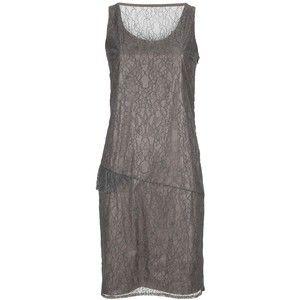 sleeveless lacy-web asymmetric drop-waist, Veronique Branquinho