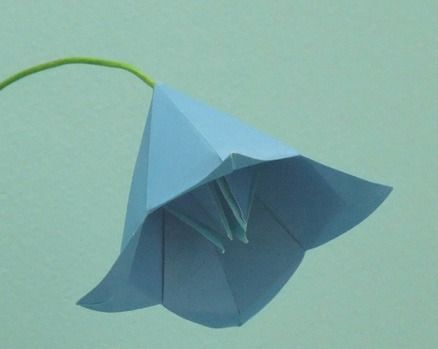 Origami, Leveon bell and Flower