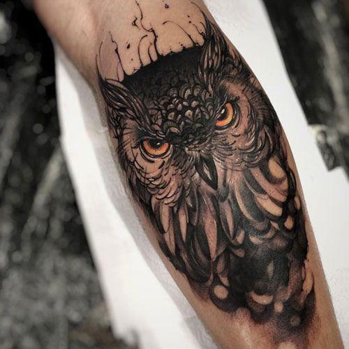 101 Cool Tattoos For Men Best Tattoo Ideas Designs For Guys 2020 Owl Tattoos On Arm Tattoos For Guys Owl Forearm Tattoo