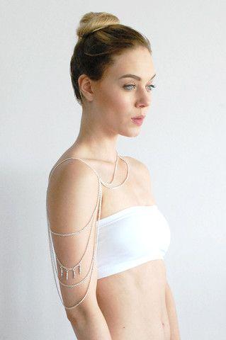 Pride Shoulder Chain Jewelry - Element 7 Body Chain Jewelry