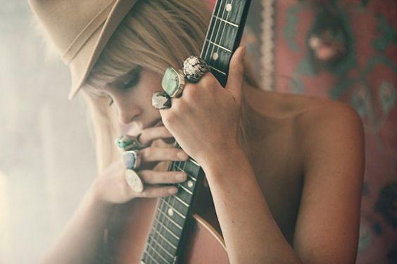 rings + music = pretty