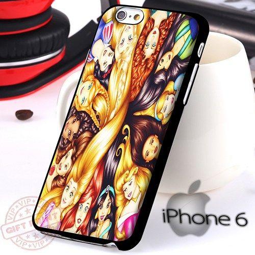All Princess Disney Ariel iPhone 6 Case
