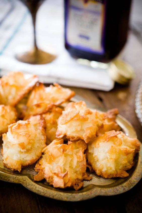 Ginger Coconut Macaroons for Passover