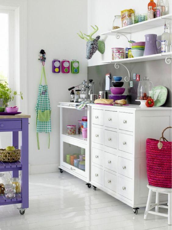 Χρωματιστές κουζίνες | Jenny.gr Galleries