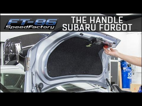 The Perrin Trunk Handle Add It To The Interior Of Your Trunk Lid Subaru Subaru Brz Handle