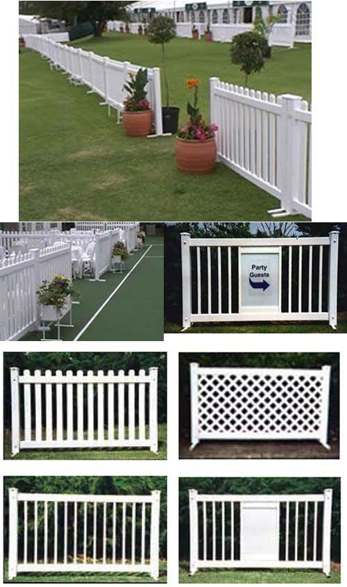 pvc fence backyard fences