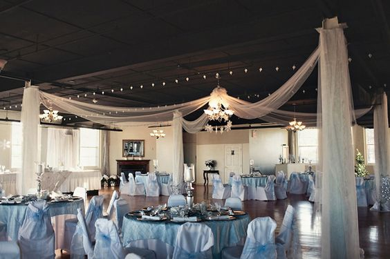 Dance floors receptions and snowflakes on pinterest for Winter wedding reception ideas