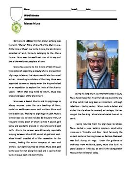 Mansa Musa and Islam in Africa