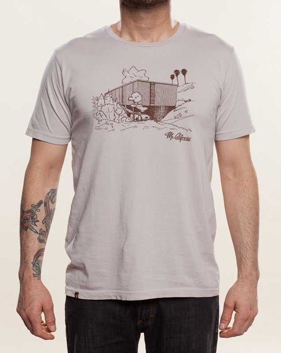 Box House T-shirt | Mr. California | Our t-shirts our 100% American made of 100% American cotton.
