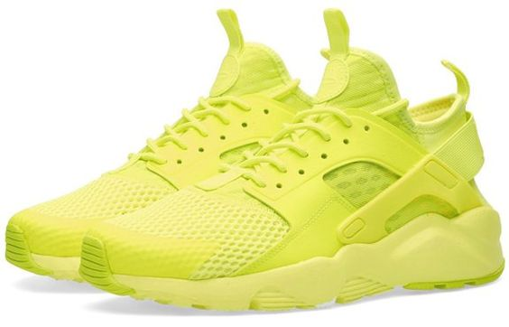 NIKE AIR HUARACHE RUN ULTRA BR GIALLO FLUO 833147-700 - 44, GIALLO FLUO euro 157,90