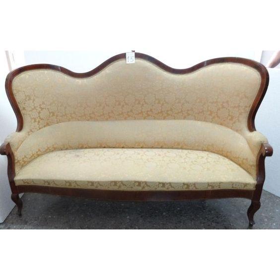 Antiguo sof de estilo isabelino siglo xix 15 colecci n for Sofas clasicos estilo ingles