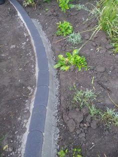 Rasenkantensteine leicht und einfach verlegen / Pflanzbeete – Rasenkanten anlegen   Beamacer