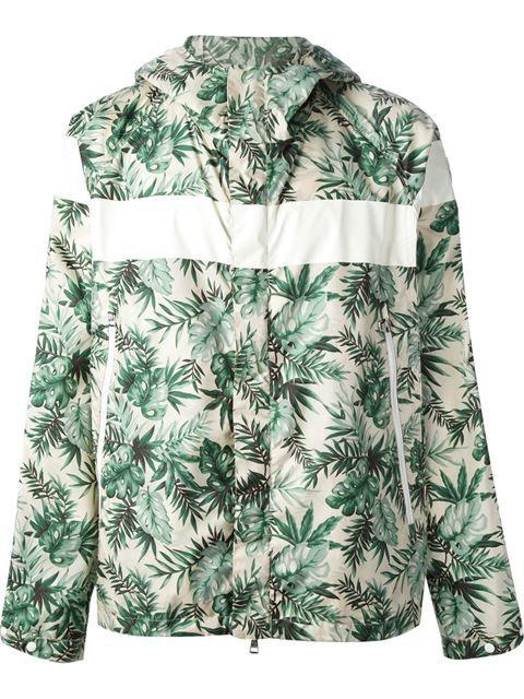 Moncler Casaco Estampado - Zoo Fashions - Farfetch.com