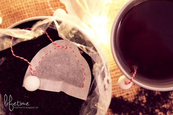DIY: {christmassy tea bags}