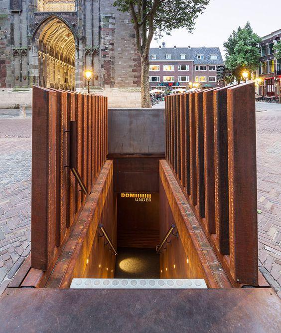 DOMunder subterranean museum beneath utrecht by JDdV architecten