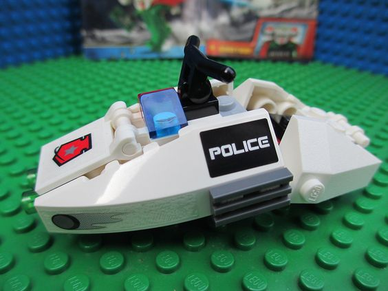 lego space instructions | Lego Space Police Speeder Bike with Instructions NO…