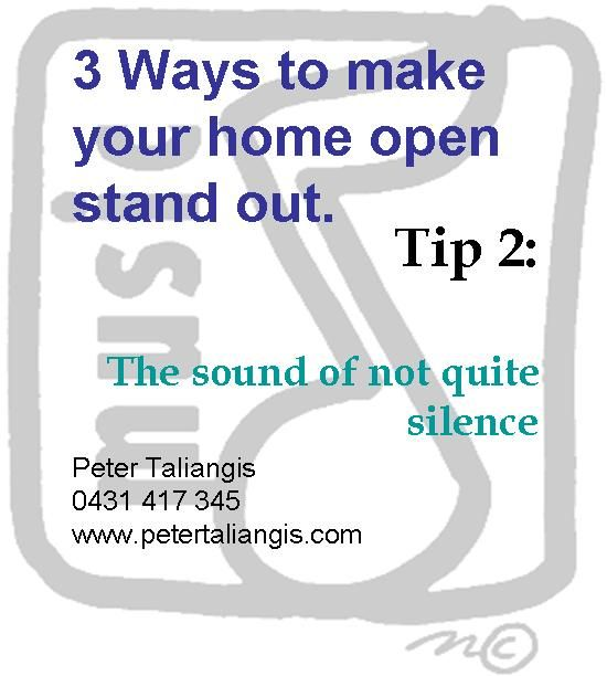 3 Ways to make your home open stand out. Tip 2.