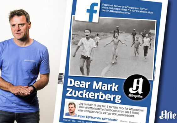 """Zuckerberg slammed after Facebook deletes iconic """"Napalm Girl"""" photograph"""