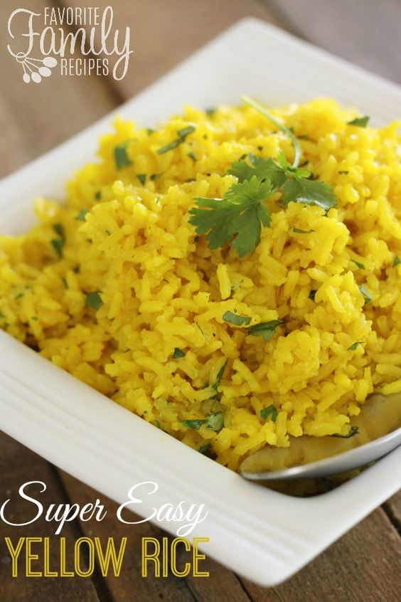 ... meals dishes turmeric families the rice onions chicken white rice