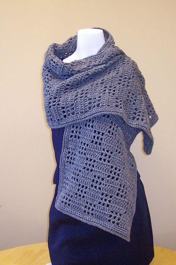 Crochet Prayer Shawl by hendersonmemories on Etsy, $40.00  My prayer shawl #23