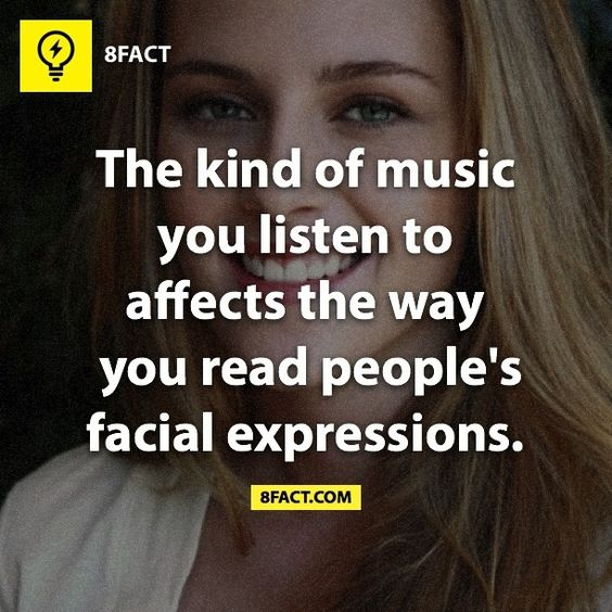 8fact Music And Facial Expressions On Pinterest