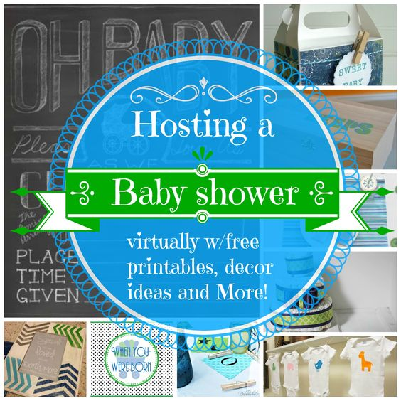 hosting a virtual baby shower creative baby showers and free