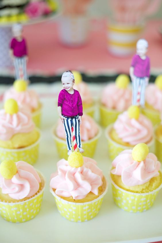 kids party.  would be great for a class/kindergarten graduation party where each kid is represented on a cupcake.