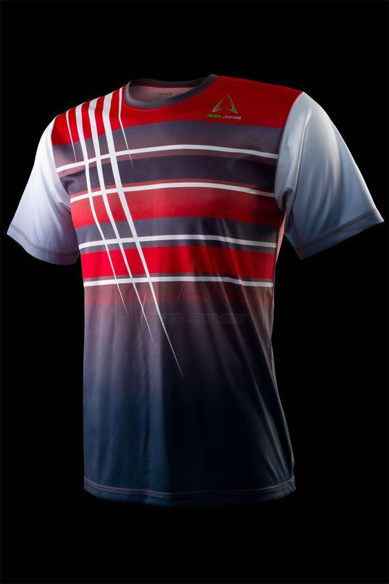 Áo thể thao Tennis Alien Armour Men's Ulight Original A001