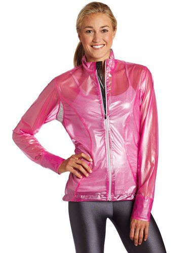 Skirt Sports Women's Skirt Breaker Jacket, X-Ray Pink, Small ...