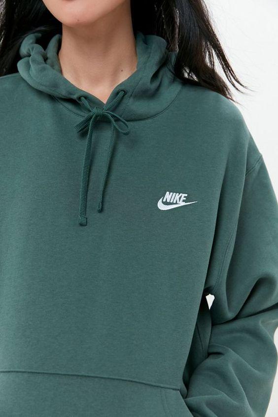 Nike Swoosh Hoodie Sweatshirt | Urban Outfitters