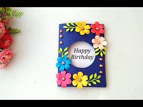Beautiful Birthday Card Idea Diy Greeting Cards For Birthday Youtube Greeting Cards Handmade Birthday Happy Birthday Cards Diy Simple Birthday Cards