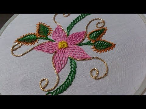 Embroidery Paper Hand Embroidery Designs Fantasy Embroidery Stitch And Flower 160 Y In 2020 Hand Embroidery Designs Embroidery Stitches Tutorial Paper Embroidery