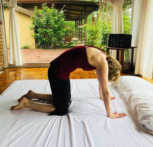 Try Bed Yoga for Pain and Better Sleep - First for Women