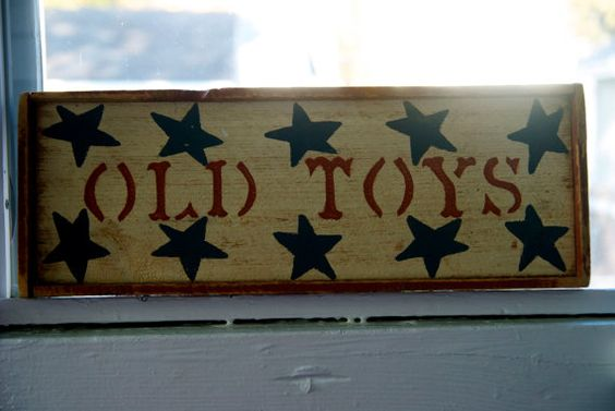 Old Toys Sign