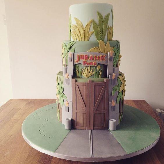 Jurassic Park, Cakes And Parks On Pinterest