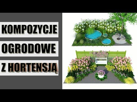Z Czym Posadzic Hortensje Aranzacje Ogrodowe Z Wykorzystaniem Hortensji Bylin I Traw Ozdobnych Youtube Green Make It Yourself How To Make