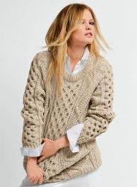 modele tricot irlandais gratuit