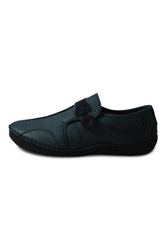 Blue Flat Shoe : Shoptiques