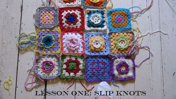 Crochet lessons step by step