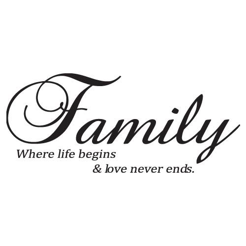 About family, Vinyl wall art and Ribs on Pinterest