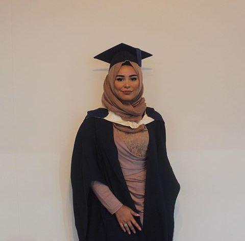 Arab beauty and graduation image | Hijab Fashion | Pinterest | Graduation Beauty and ...