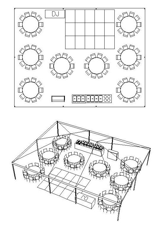 Delightful A Tent Arrangement For 80 People   A 30u0027 X 40u0027 Tent | Tent Layout |  Pinterest | Tents, 30th And People